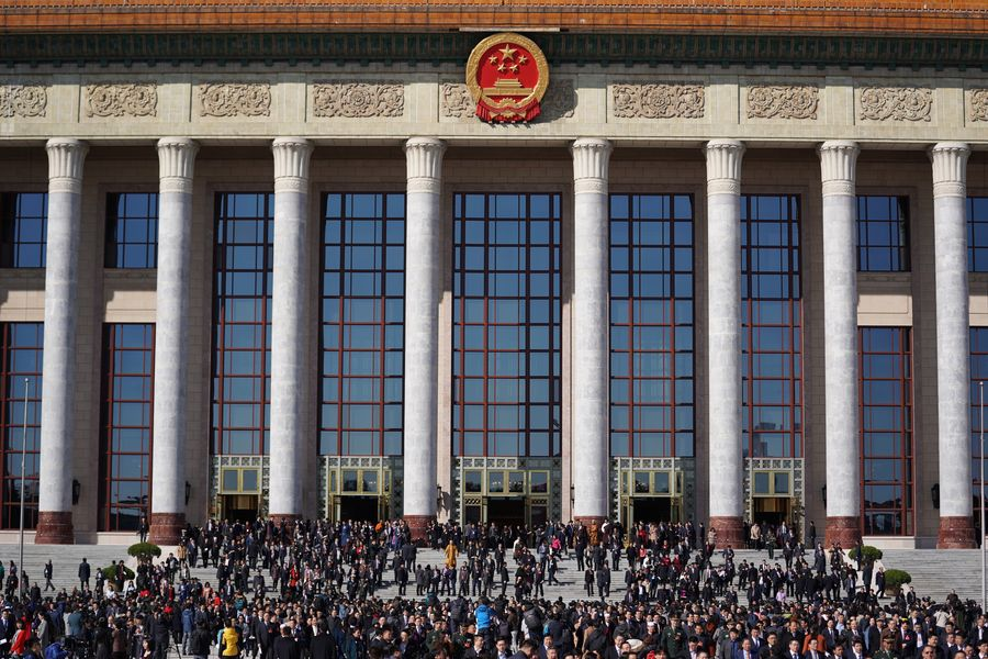 Xi Chairs Leadership Meeting to Discuss Draft Government Wor