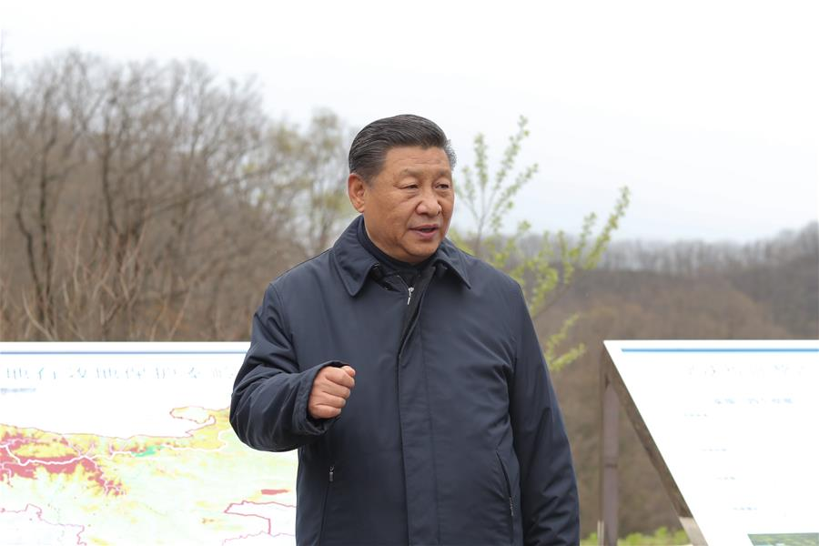 Xi Urges Officials to Be Guardians of Qinling Mountains Ecol